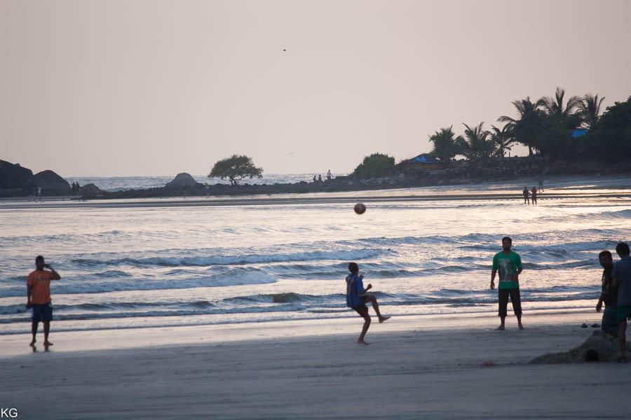 Beach + Boys + Ball