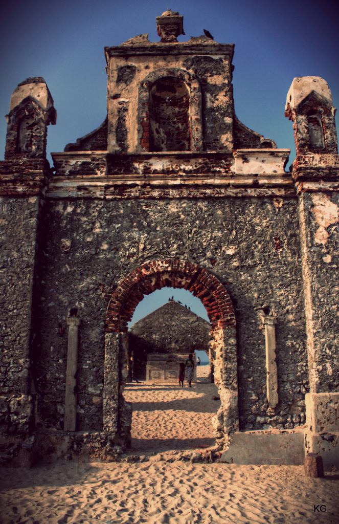 Church, Dhanushkodi, India (already posted one)