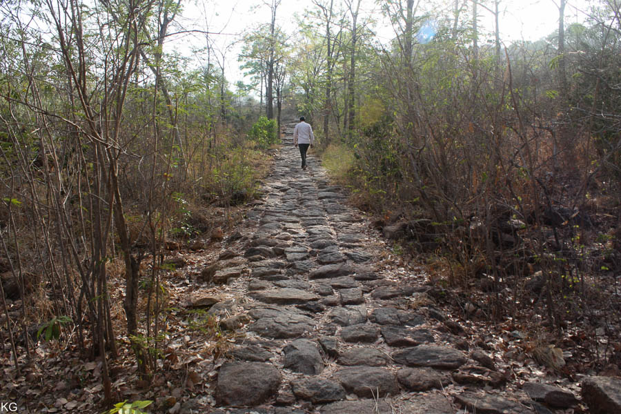 Beginning of a Trek in Thiruvannamalai