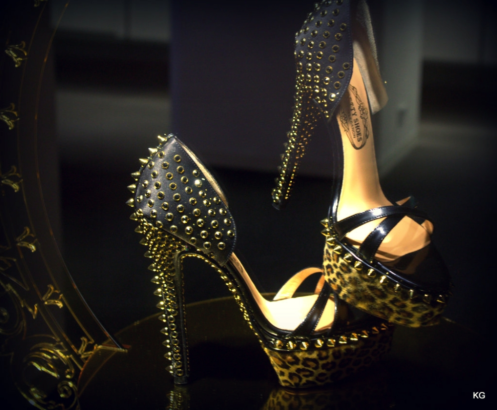 Crystallized Shoes - Definitely a Treasure ;)