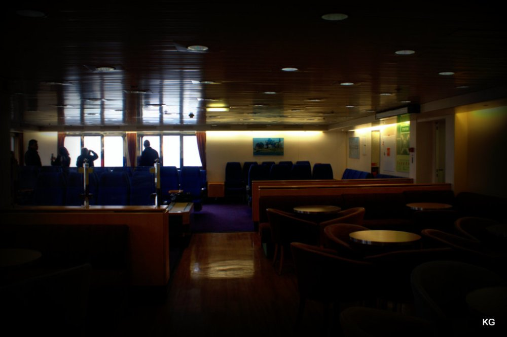 Inside of a Ferry