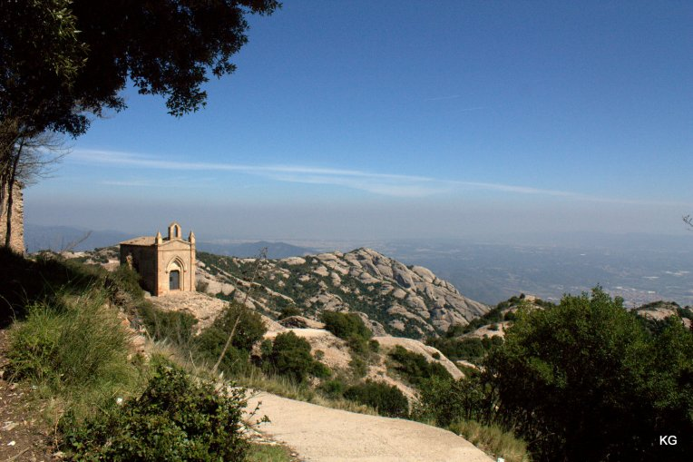 Montserrat-Sant Joan Monastery Point