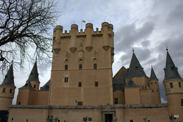 Segovia-Alcazar (This seems to have inspired Walt Disney's Castle as I was told)
