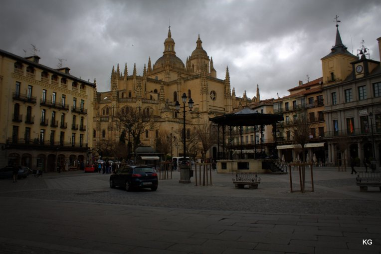 Segovia - Plaza+Cathedral