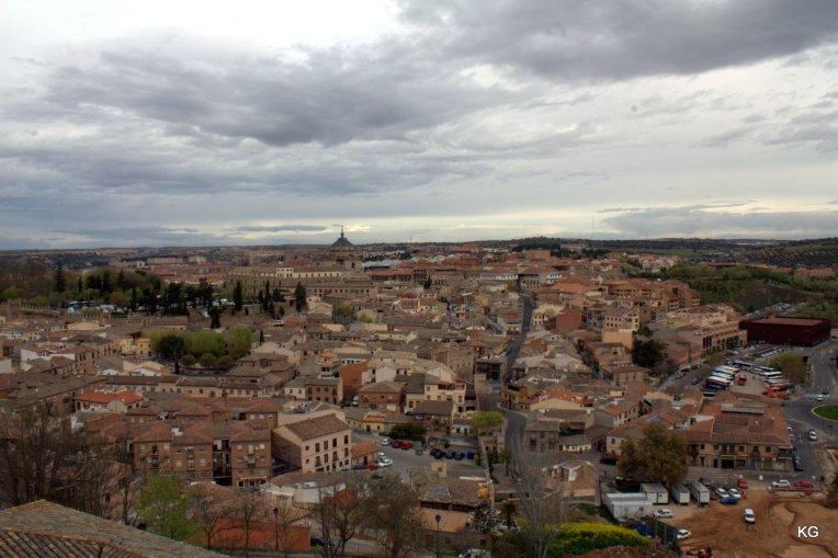 Toledo - View of City below