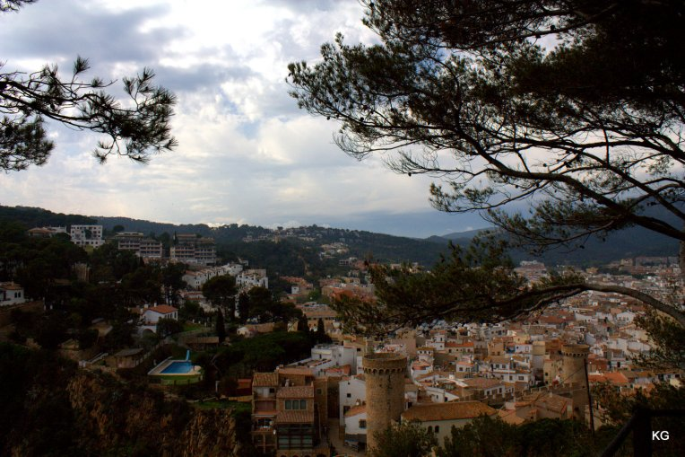 Tossa De Mar - View of City from Fort