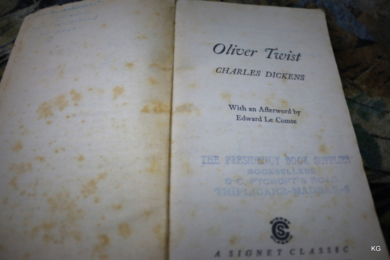Texture of a 1961 published book
