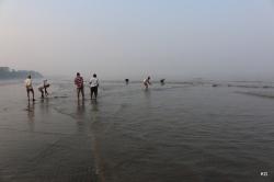 Sunrise and Fishermen @ work