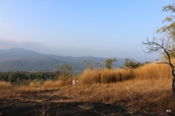During morning trek