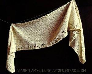 Lemony shawl